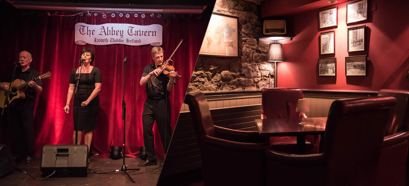 Live Music at Abbey Tavern Restaurant Howth Dublin Ireland